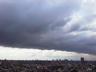 Clouds over Brooklyn...