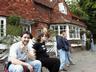 Near Otford, England...