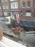 Roadwork on Great Titchfield Street...