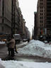 NYC, post snow storm...