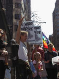 New York City, Anti-War Protest...