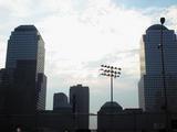 Summer sky in New York City...