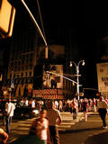 Northeast Blackout - Times Square, New York City...