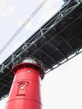 The Little Red Lighthouse under the Great Gray Bri...