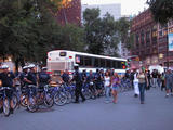 Cops on Bikes in Union Square, NYC...