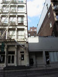74 Grand Street, SoHo, NYC - Heavy rains last week...