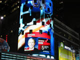 Times Quare, Election Night 2004...