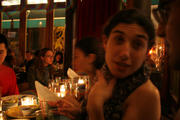 Dinner at Esperanto in the East Village for Victor...
