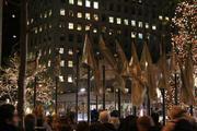 A tree lighting in Rockefeller Center, NYC...