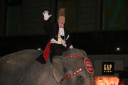 The Ringling Brothers bring their elephants to Mad...