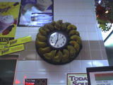 Allentown Project - A bagel clock at the Manhattan...