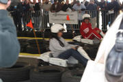 Danica Patrick and Tony Danza in Union Square...