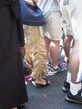 Fancy pants at the Pride Parade...