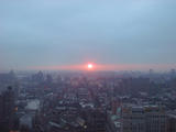 Sunrise over Brooklyn...