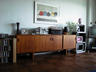 My new friend, Monsieur Credenza...