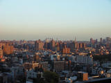 The East Village at sunset...